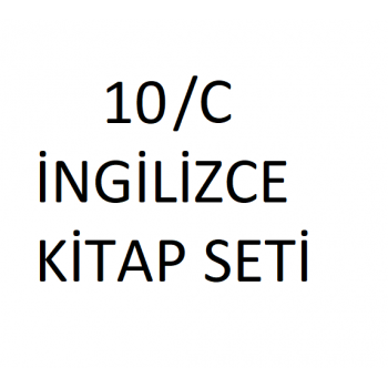 10/C SINIFI İNGİLİZCE KİTAP...