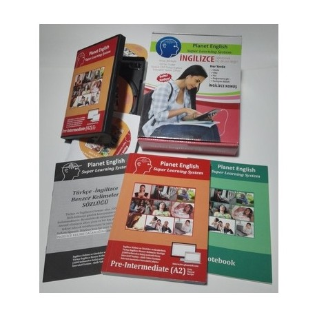 Planet English Super Learning System A2 Pre-Int