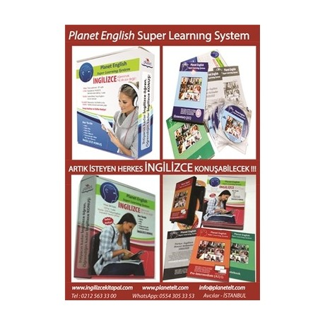 Planet English Super Learning System A1+A2 çift set